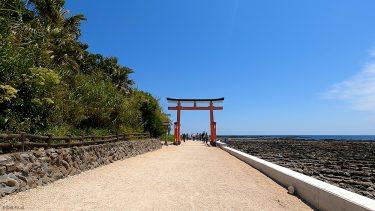 【青島】亜熱帯植物が自生する海と鬼の洗濯板に囲まれた小さな島