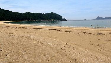 【熊野江海水浴場】まるでプライベートビーチ?!地元の人に愛される海水浴場